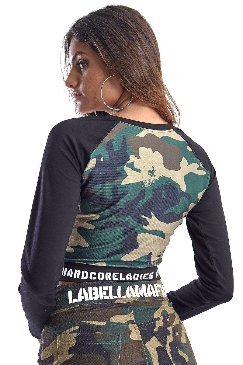 Labellamafia Blusa Labellamafia MBL14617