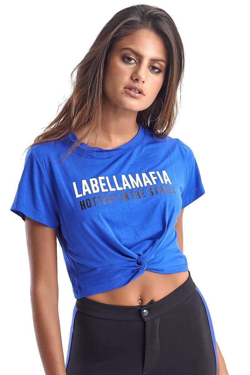 Labellamafia Blusa Cropped Labellamafia MBL14689