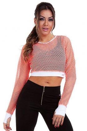 Cropped Mirella - Garota Fit BL77G Garota Fit Fashion Fitness e Praia