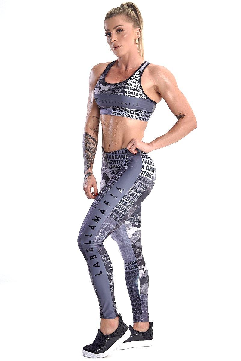 Labellamafia Conjunto Fitness Labellamafia FCJ13473