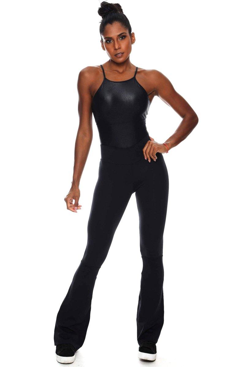 Canoan Pants Flare Classic Black 32203