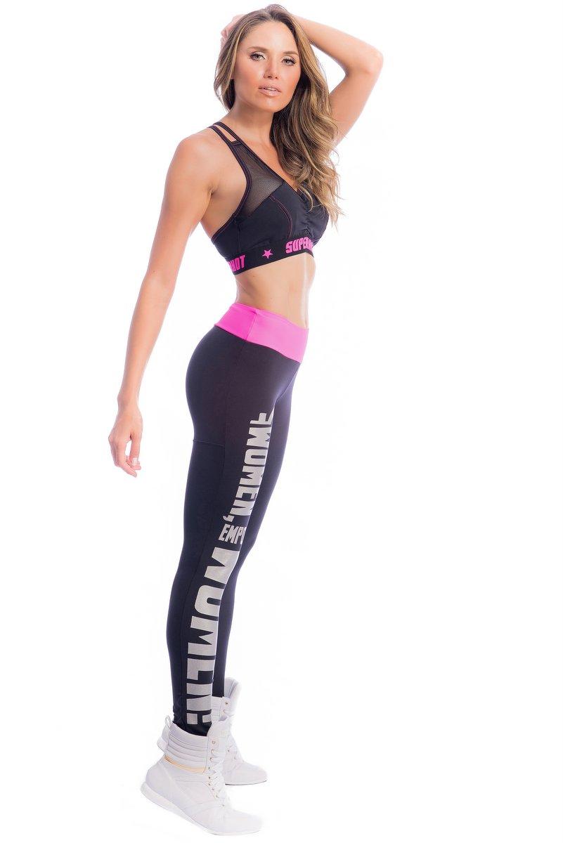 Superhot Calça Legging Empower Preta CAL1823