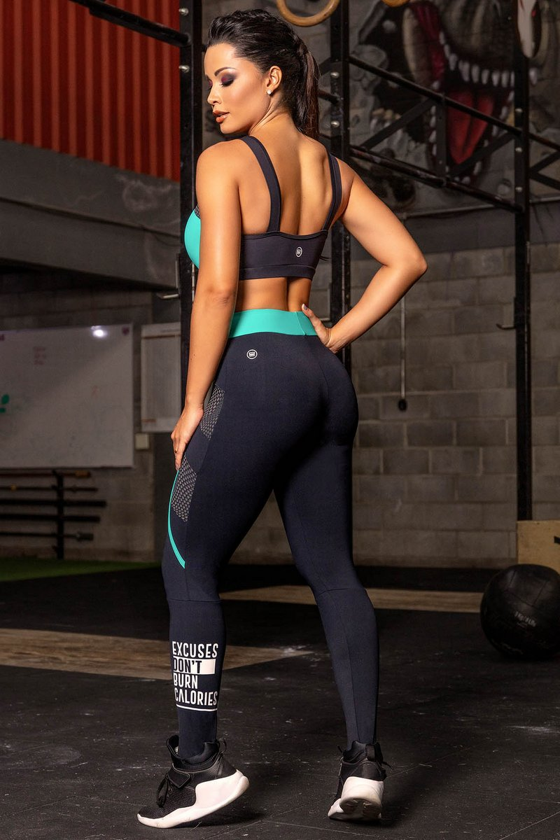 Hipkini Legging Woman Power Motivation 3336737