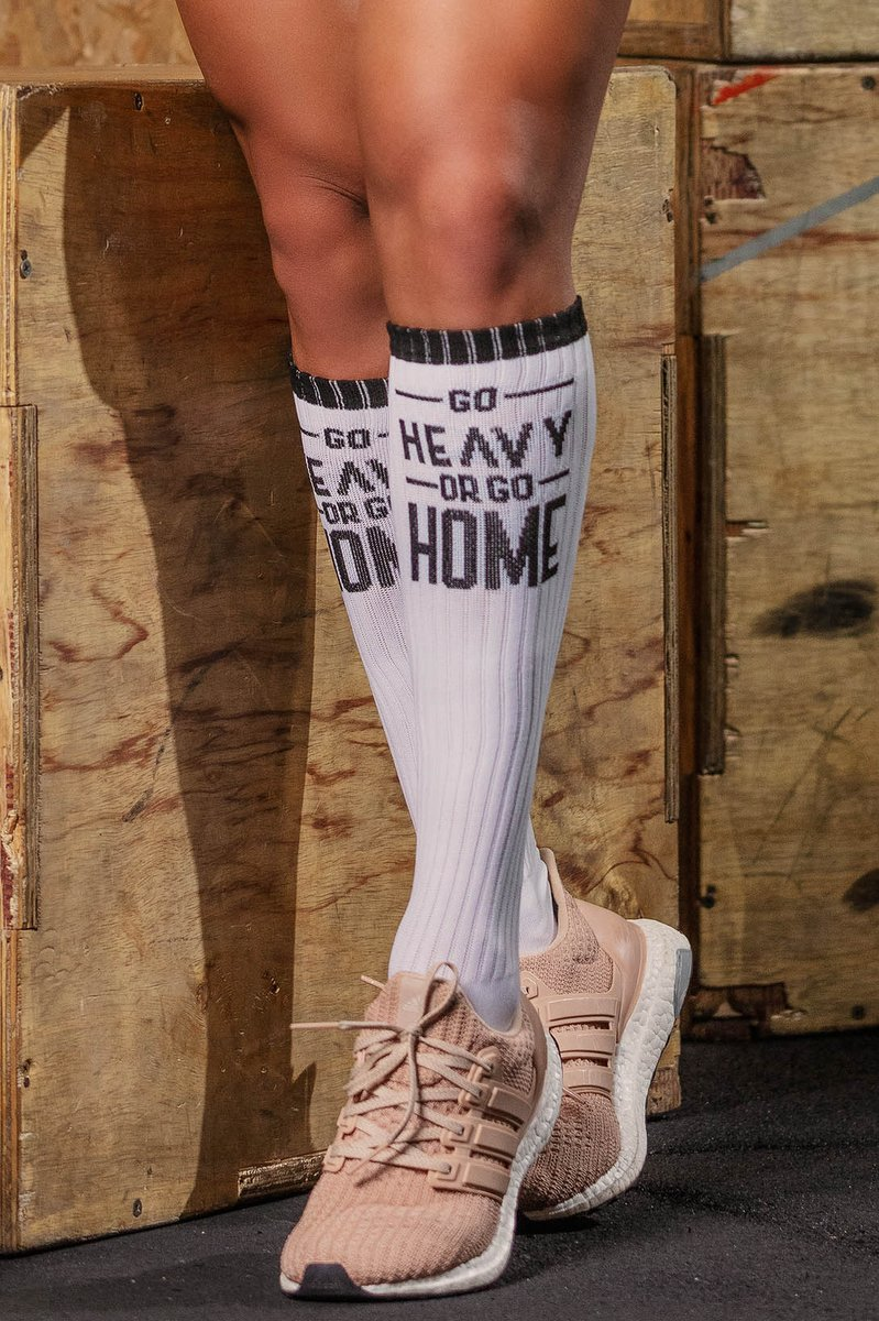 Hipkini Socks Go Heavy Or Go Home White 3336610