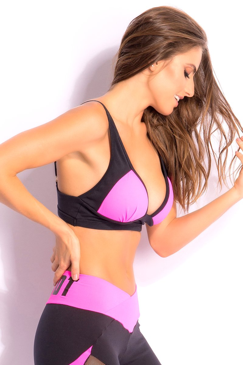Superhot Top Stronger Rosa Neon TOP1655