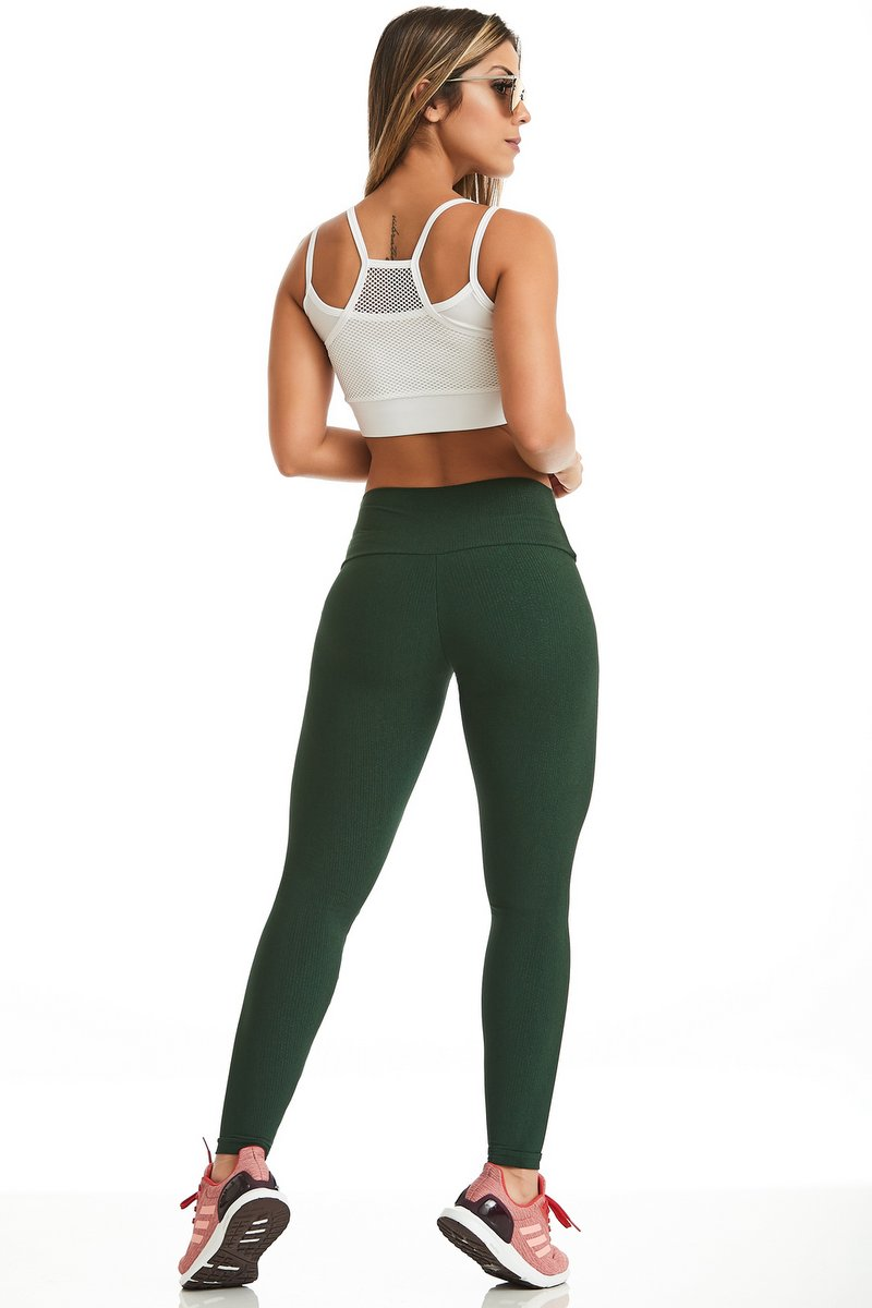 Caju Brasil Calça Legging Summer Verde  11072F8168