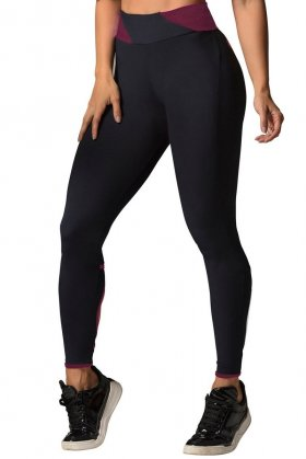 Legging Highway Going To The Sun Vinho - Hipkini 3336990 Hipkini Fitness e Praia