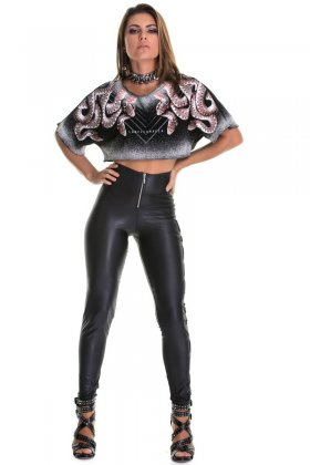 Calça Labellamafia  - Labellamafia MCL14745 Fit You Fashion Fitness