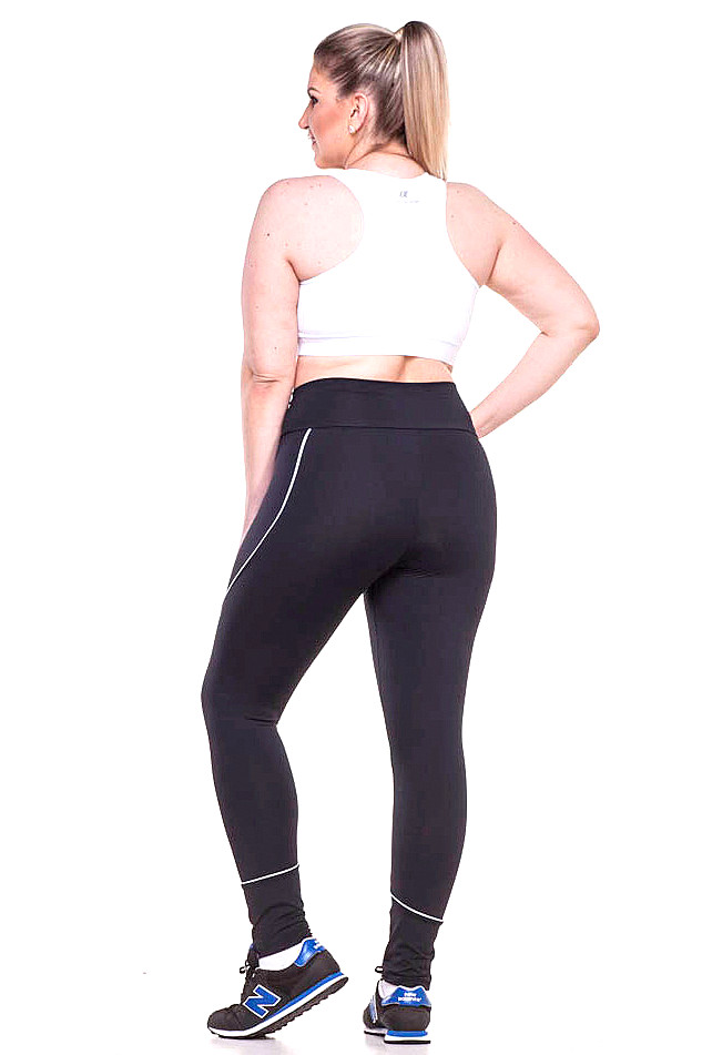 Zero Açucar Calça Legging Plus Size Stay 142006