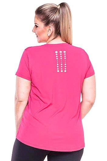 Zero Açucar Camiseta Plus Size Pop Rosa Pink 162001