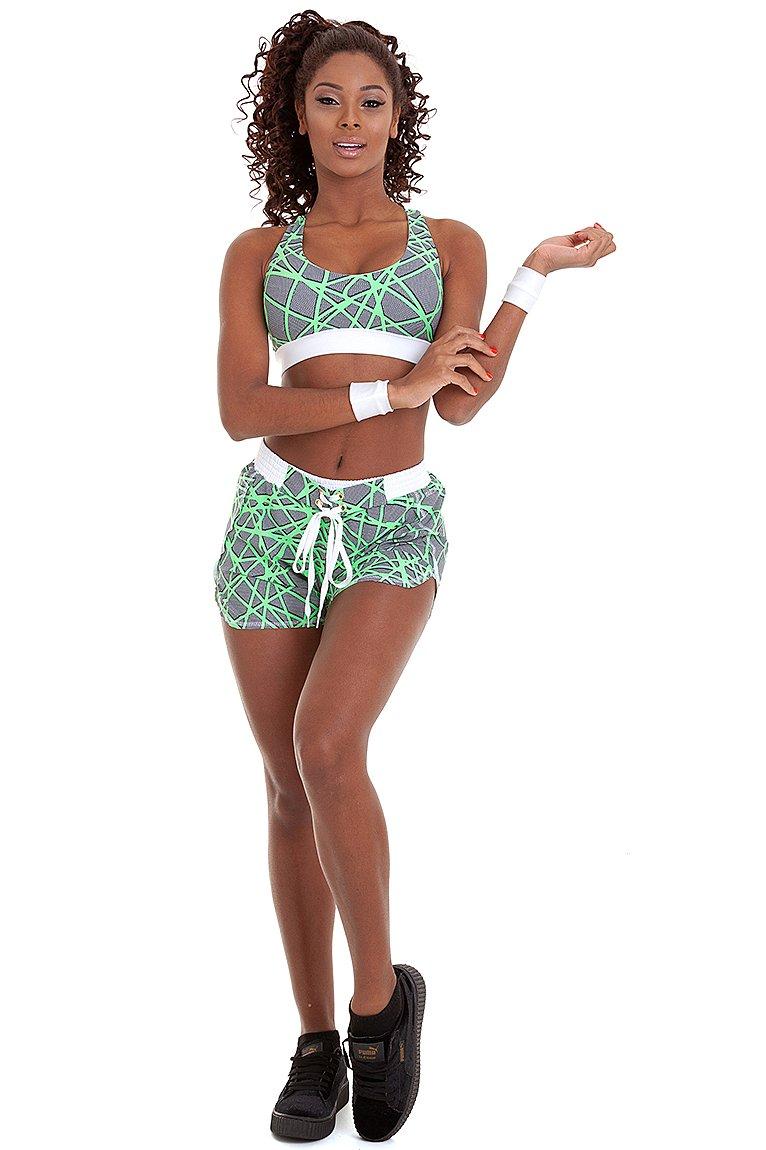 Garota Fit Shorts Lara SH460E01
