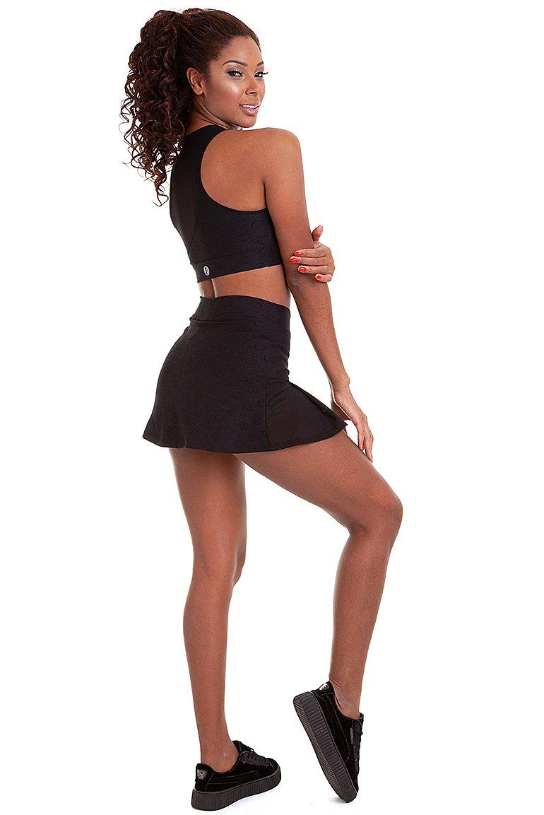 Garota Fit Shorts Saia Poliana SAB15A