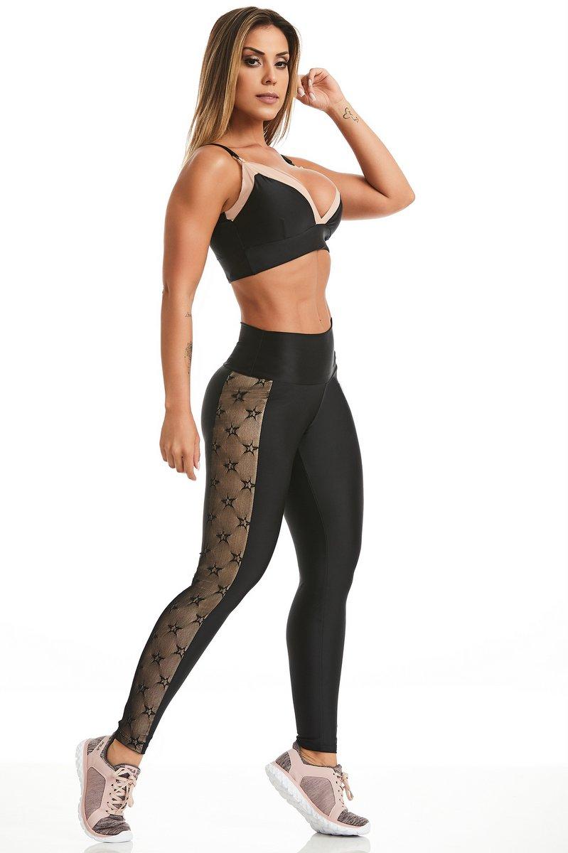 Caju Brasil Calça Legging Atletika Likes 11059F8200
