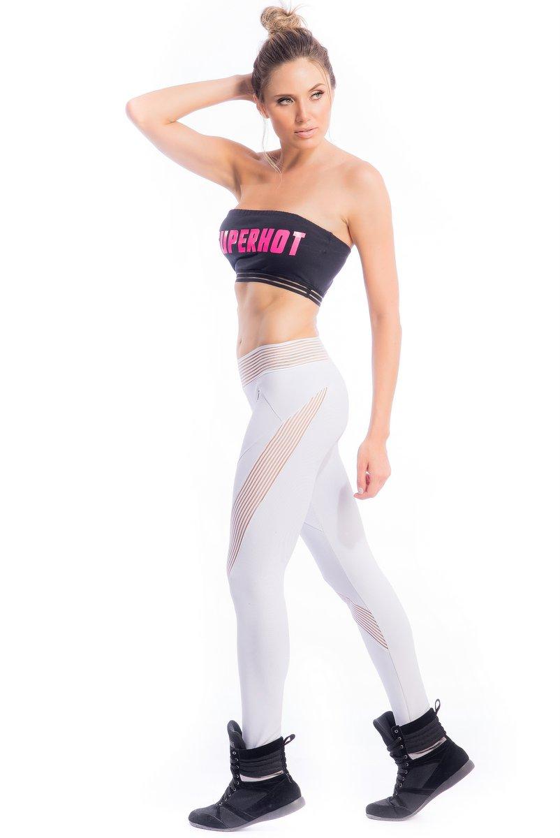 Superhot Calça Legging Superhot White CAL1794