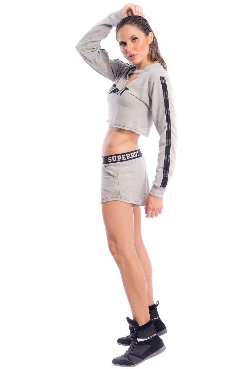 Superhot Shorts Superhot Grey SH1686