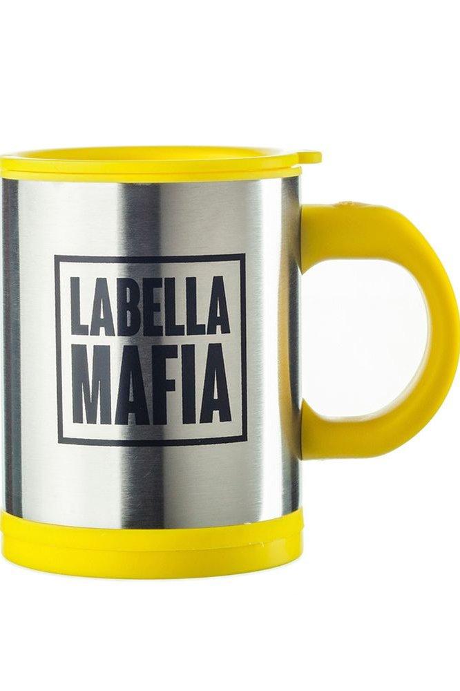 Labellamafia Caneca Mixer Hardcoreladies Yellow ACG007