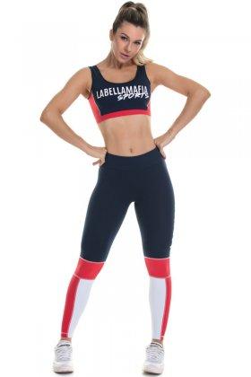 Legging Labellamafia  - Labellamafia FCL13604 Fit You Fashion Fitness