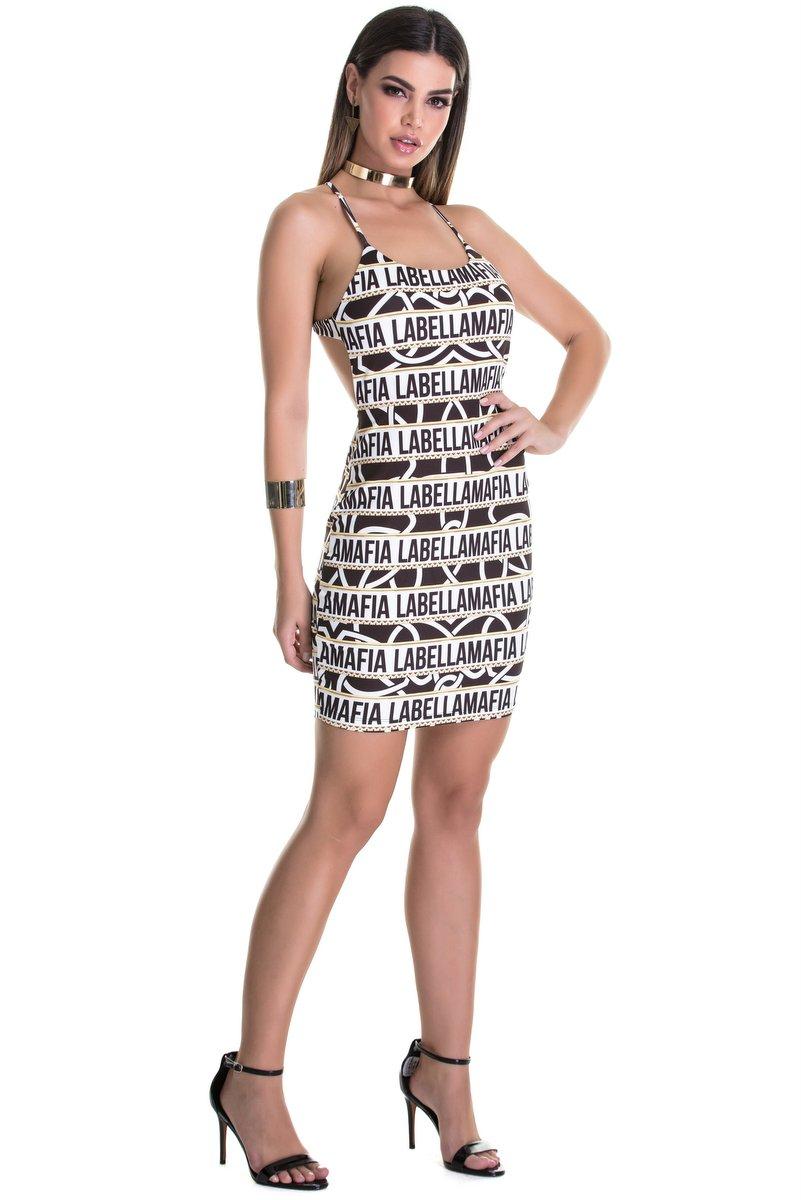 Labellamafia Vestido Labellamafia MVT14840