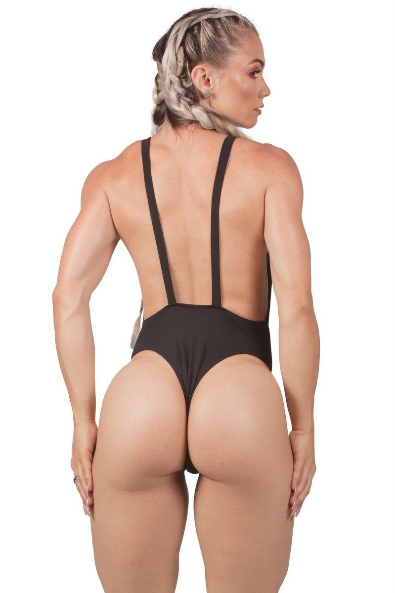 Maria Gueixa Body Maio Decote Ultra Summer Preto 005434B