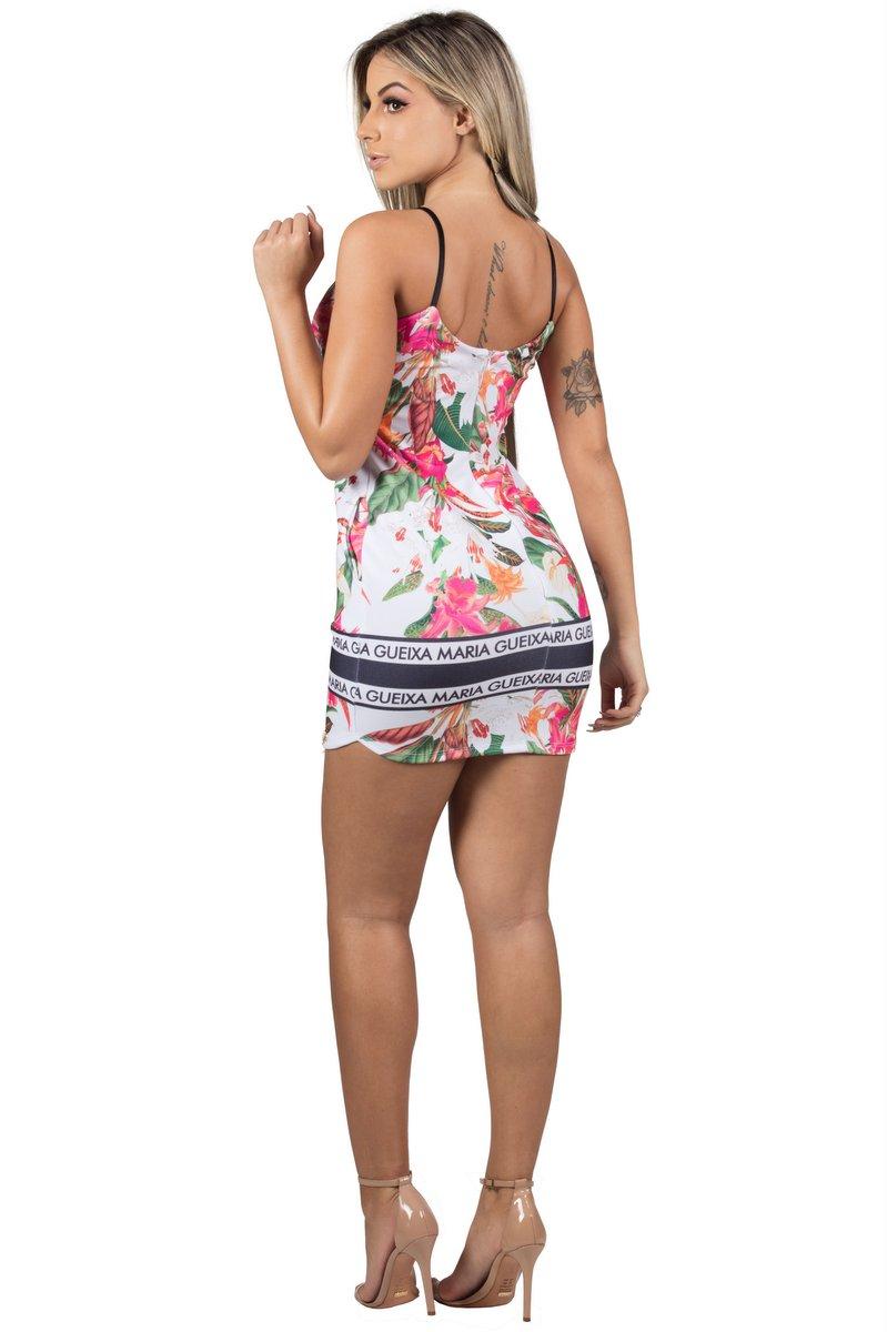 Maria Gueixa Vestido Curto Comfort Alça 005437A