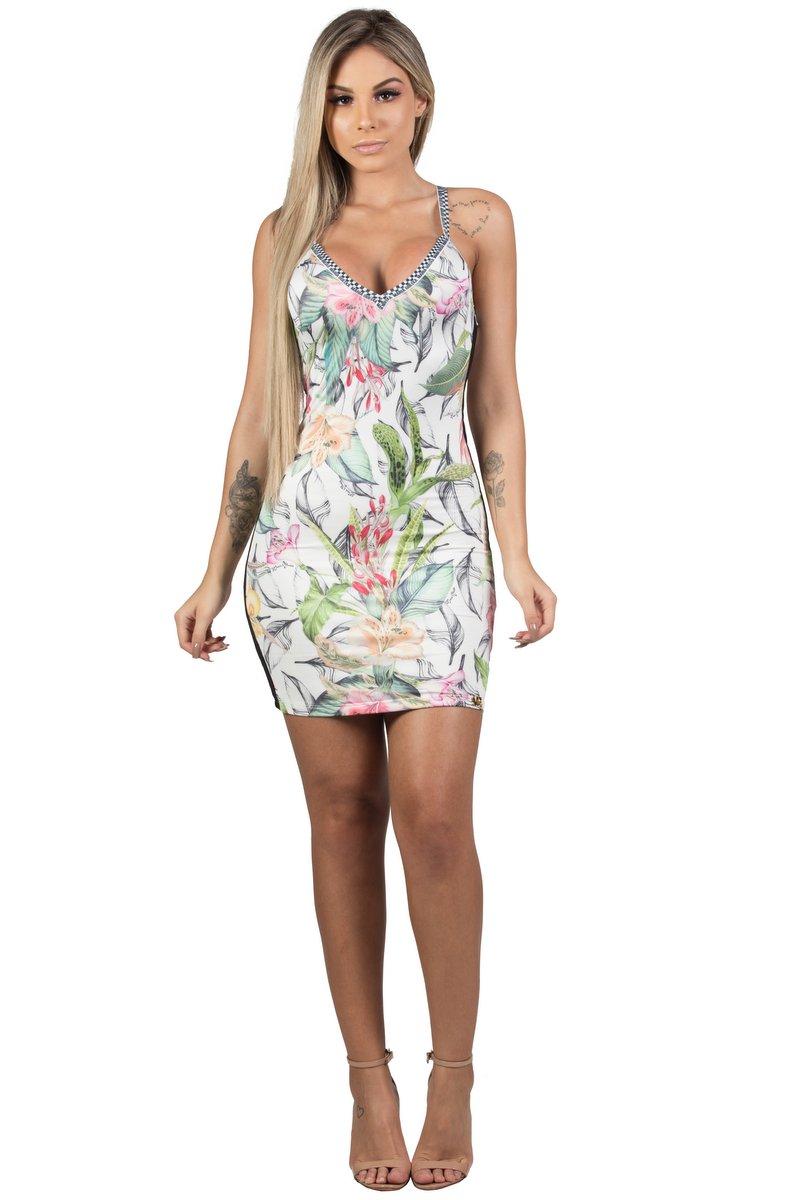Maria Gueixa Vestido Curto Tubinho Street 005511