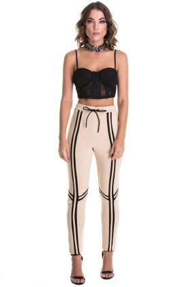 Calça Labellamafia  - Labellamafia MCL14761 Fit You Fashion Fitness