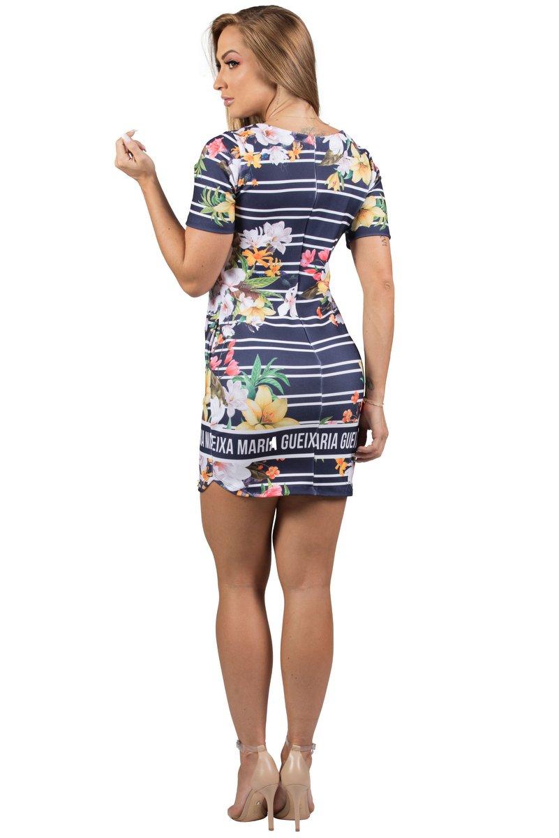 Maria Gueixa Vestido Curto Comfort Summer 005541