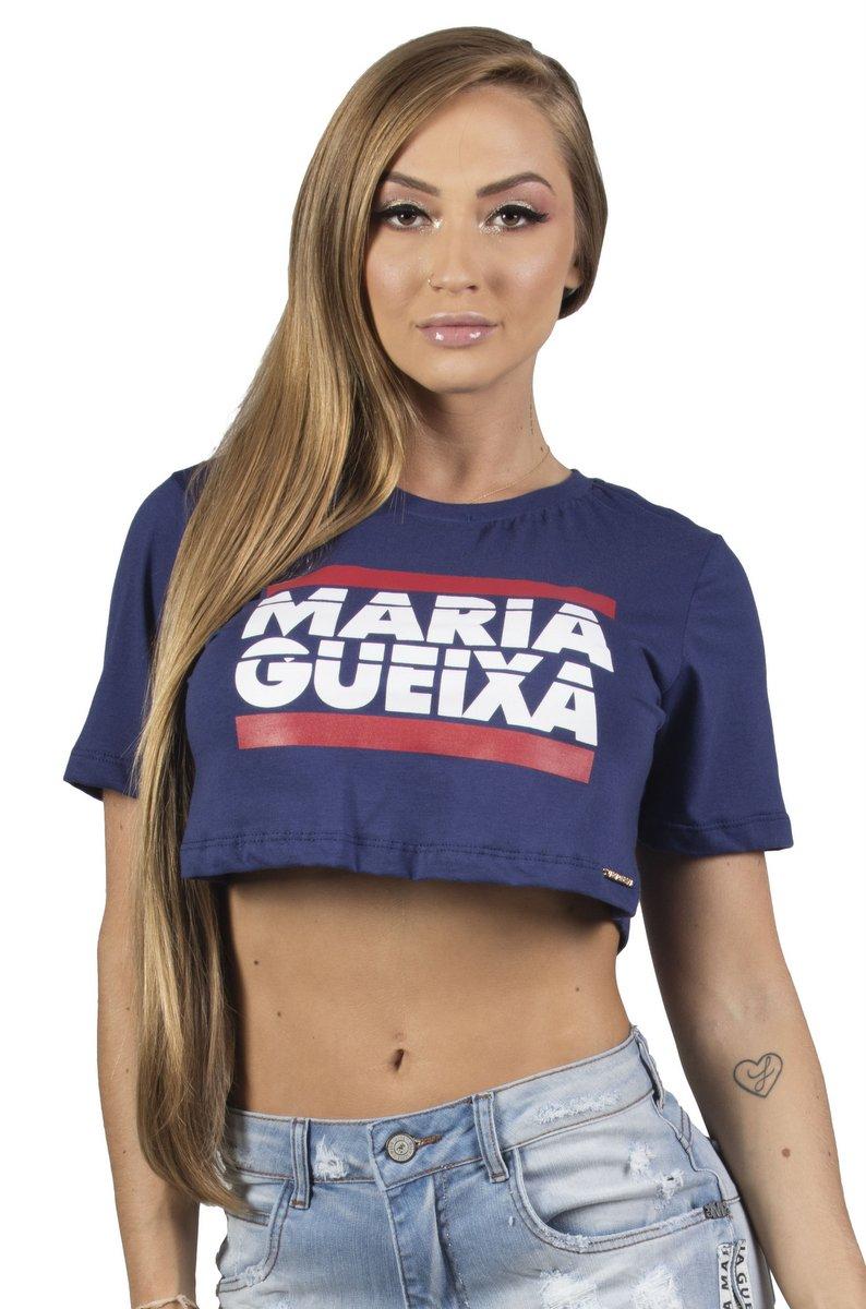 Maria Gueixa Blusa Logo Branca 005455B