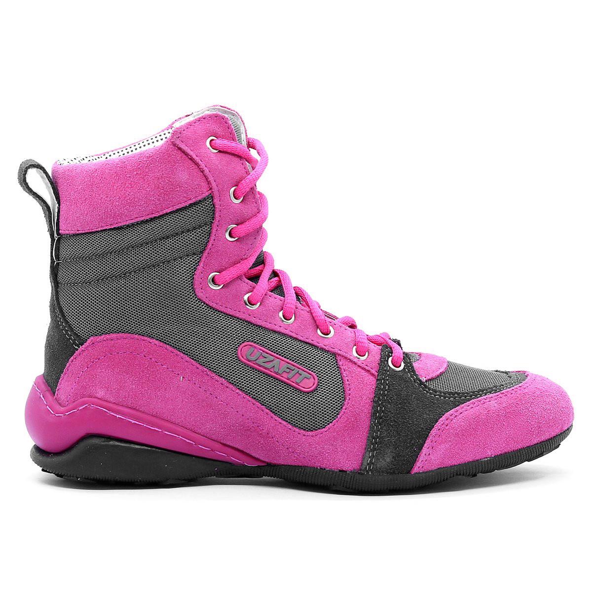 Uzafit Bota de Treino Dueto Pink Cinza DT20300