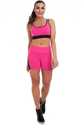 shorts-daniela-garota-fit-sh461d Garota Fit Fashion Fitness e Praia