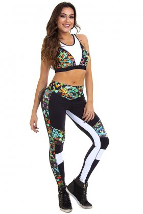 set-nicole-garota-fit-fcs79e01 Garota Fit Fashion Fitness e Praia