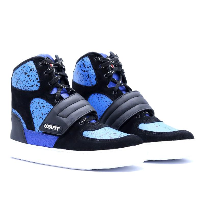 Uzafit Sneaker Concept Azul e Preto CC5080