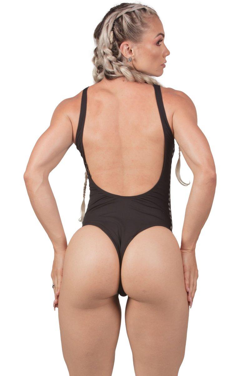 Maria Gueixa Body Maio Start Gym Preto 005494