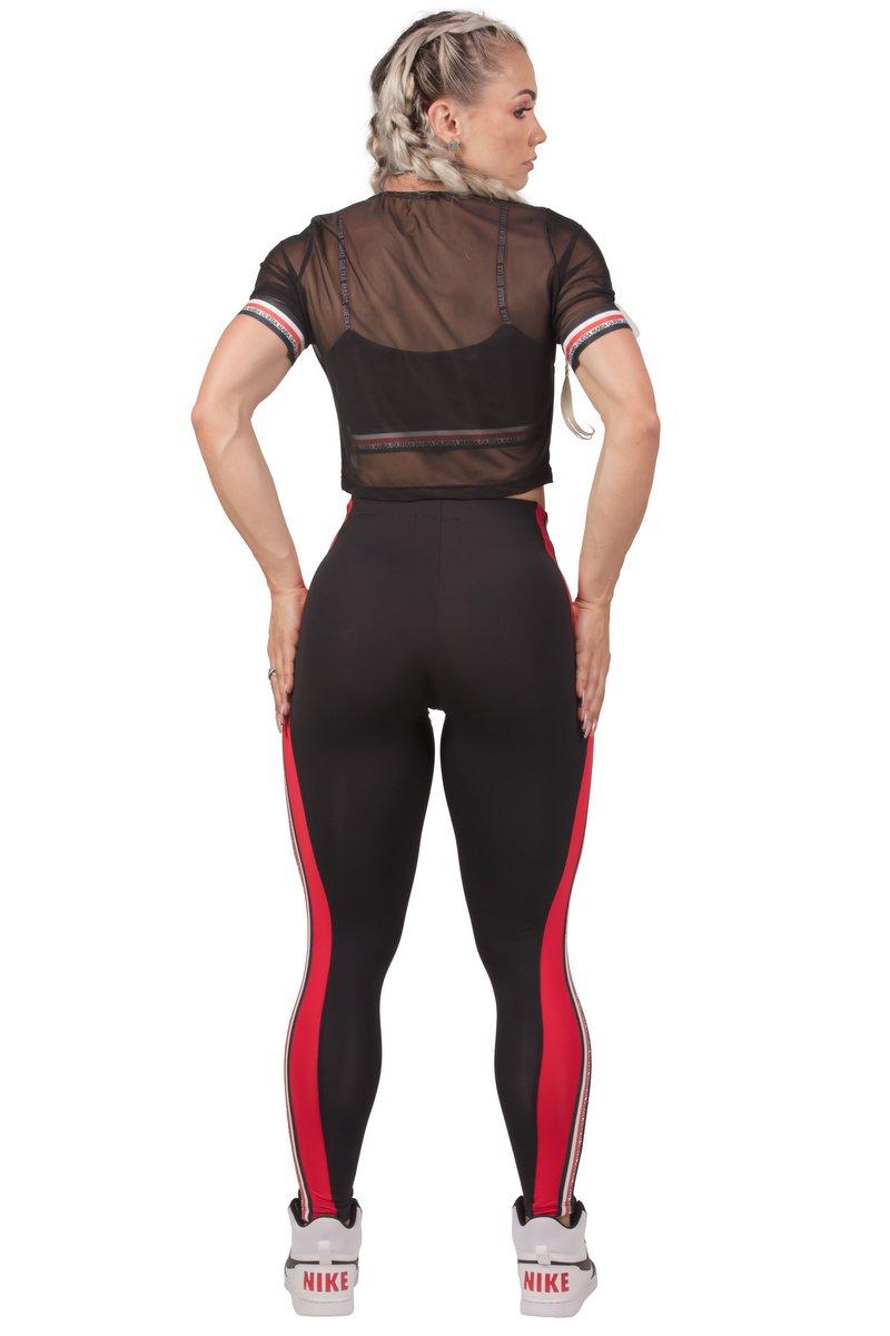 Maria Gueixa Legging Fitness Lateral Elástico 005559