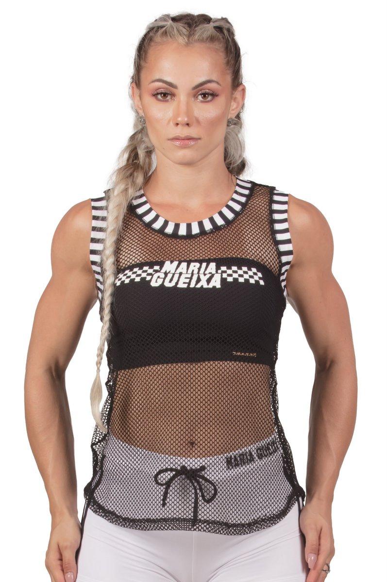 Maria Gueixa Regata Fitness Tela 005657
