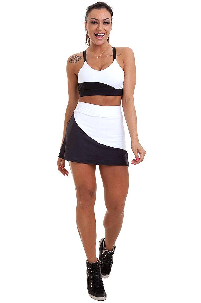 Garota Fit Skirt Adriana SAB17A