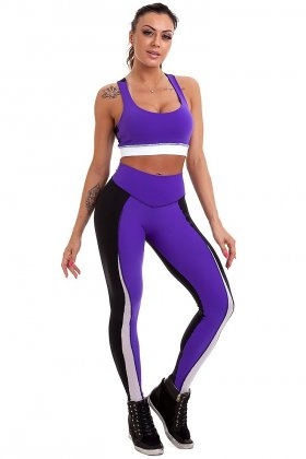conjunto-lavinia-garota-fit-fcs82f Garota Fit Fashion Fitness e Praia