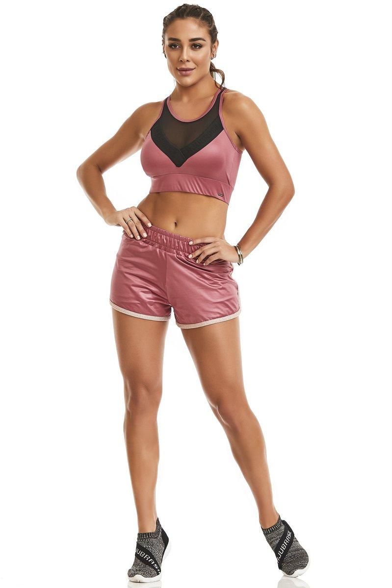 Caju Brasil Shorts Fancy Rosa 11118F11178