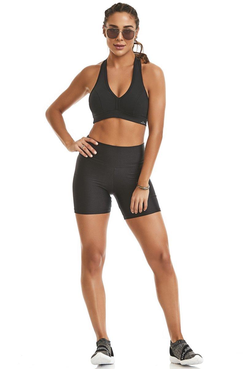 Caju Brasil Shorts Jolly Preto 11114F6200
