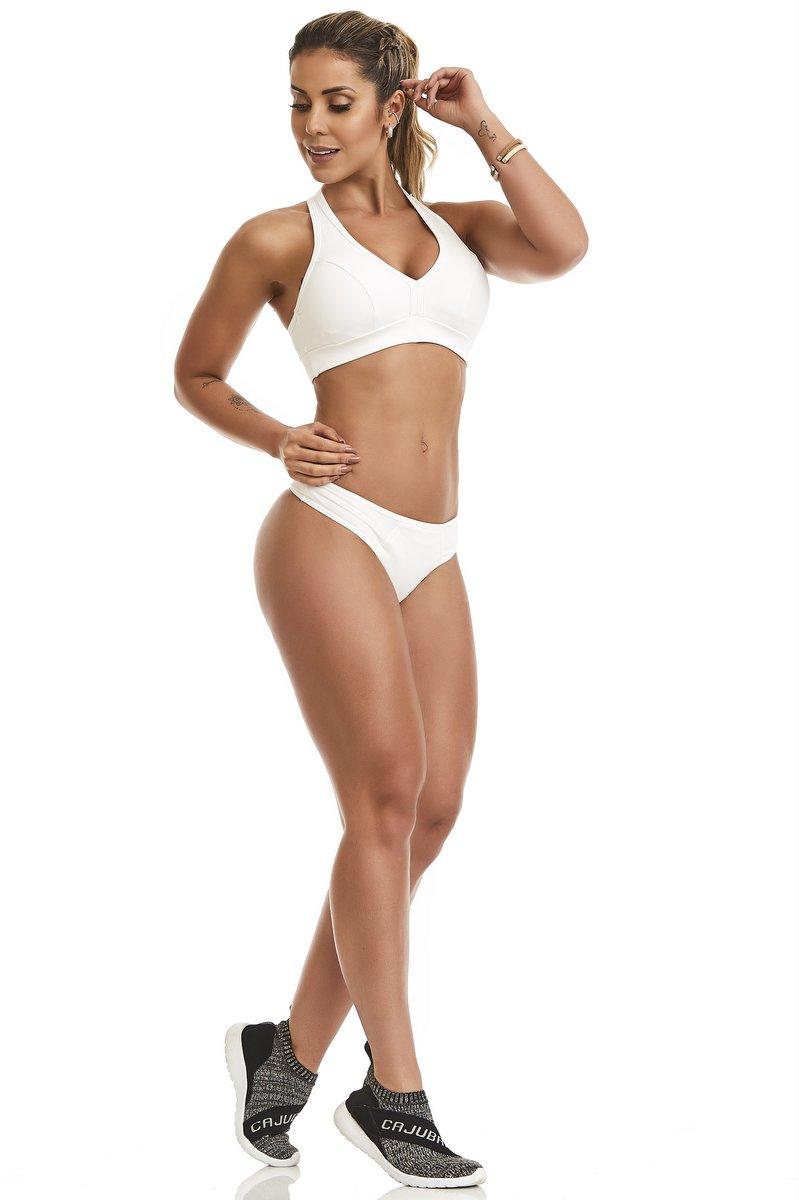 Caju Brasil Bikini Panties Fit Comfort White 9700F1100