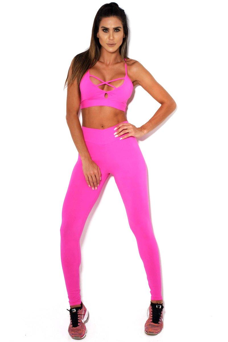 Canoan Calça Legging Comfort Pink 11124