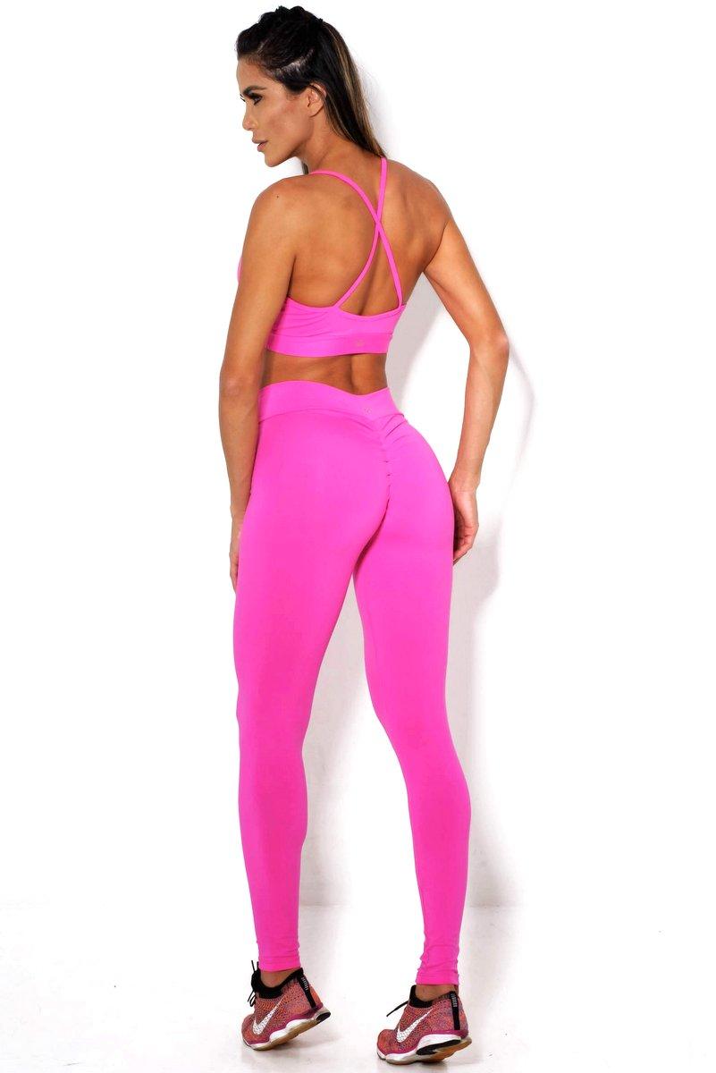 Canoan Pants Legging Comfort Pink 11124