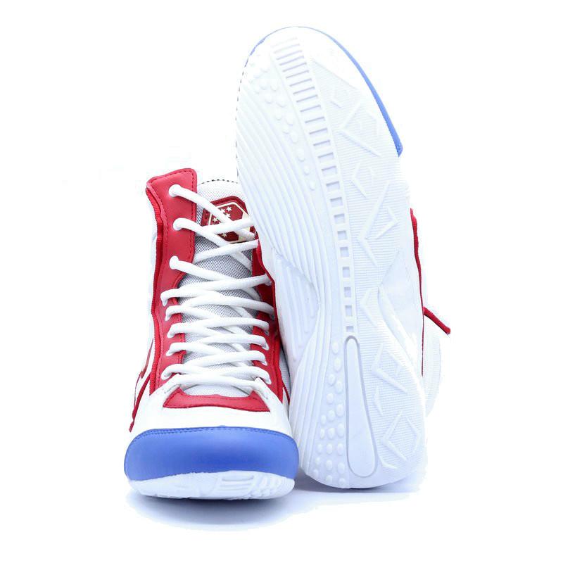 Uzafit Bota de Treino Branca Azul Vermelha DT2050
