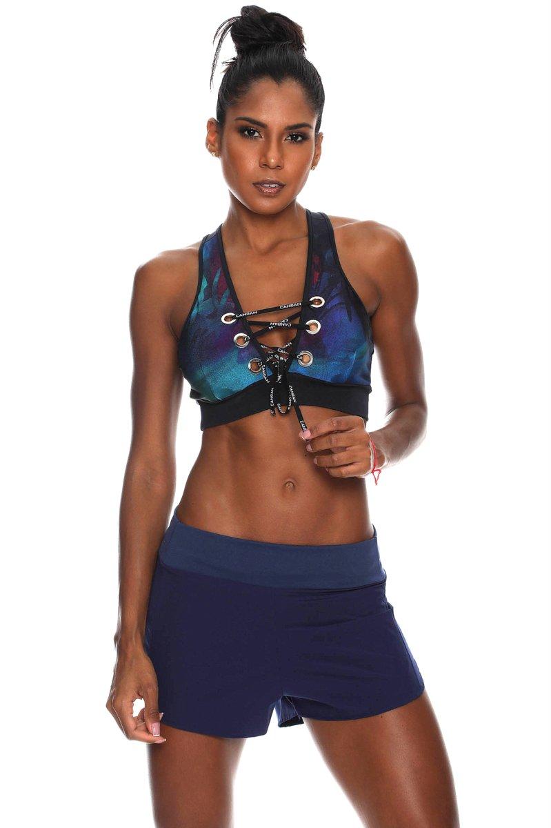 Canoan Shorts Basic Up Marinho 01125