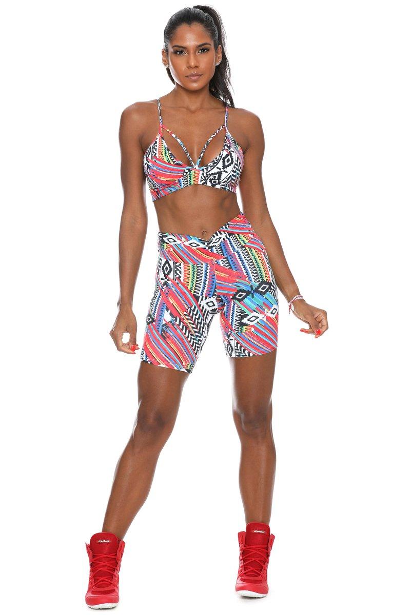 Canoan Bermuda Meia Coxa Ethnic 06984