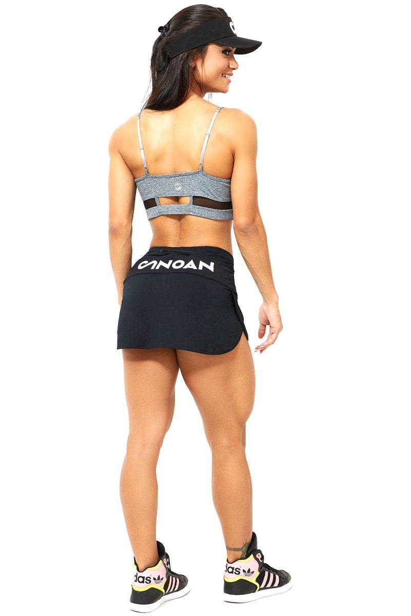 Canoan Shorts Saia Endurence Preto 03670