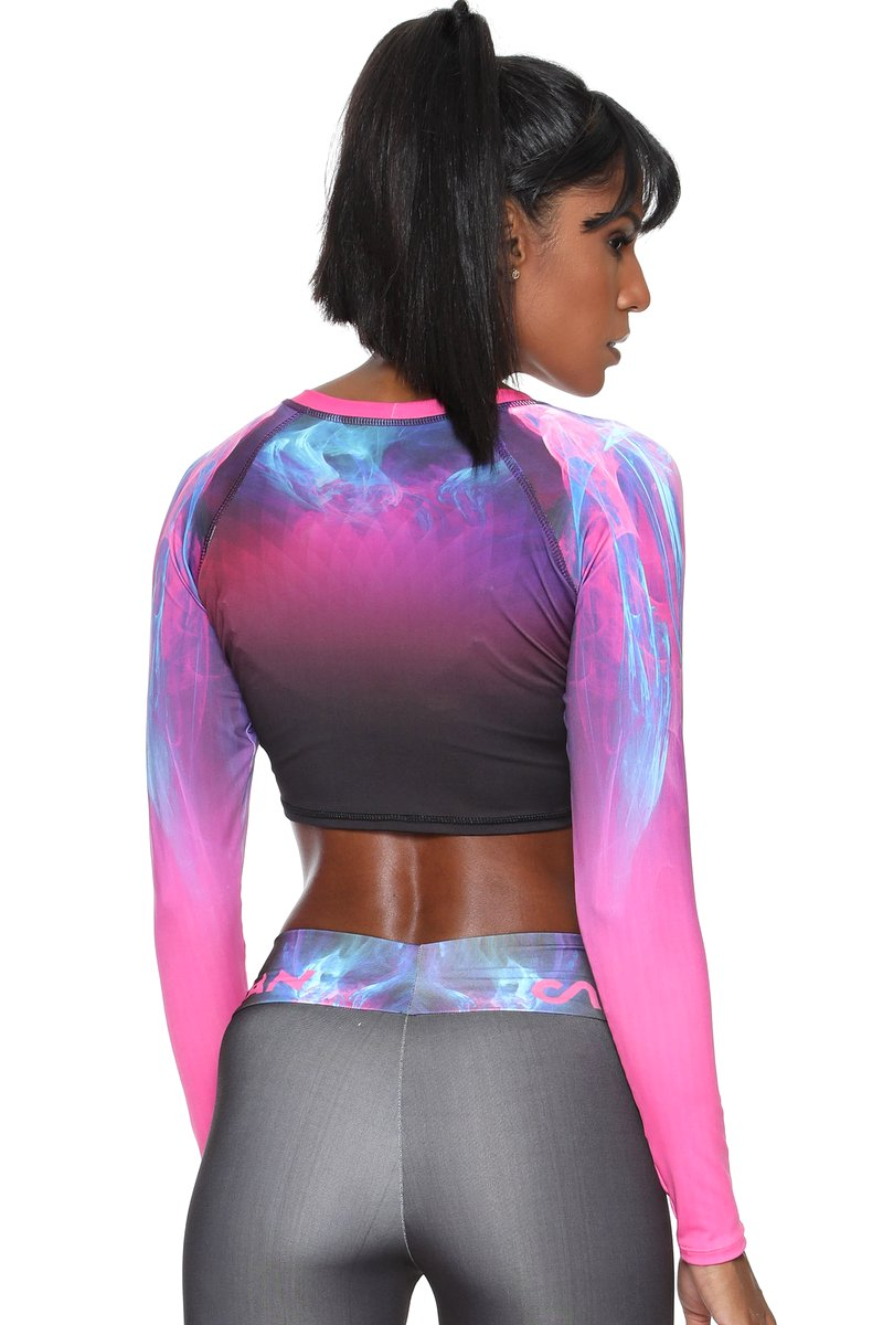 Canoan Blusa Cropped Pink Boreal 79159