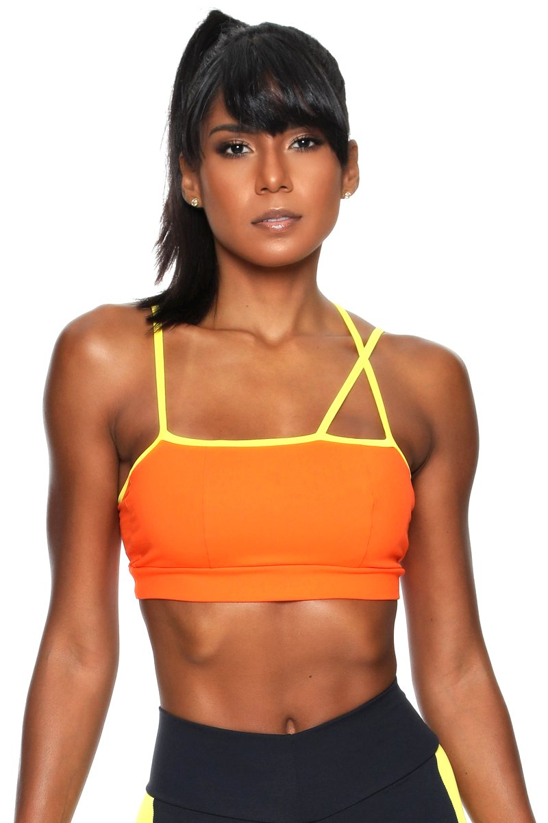 Canoan Top Crossed Laranja  79092