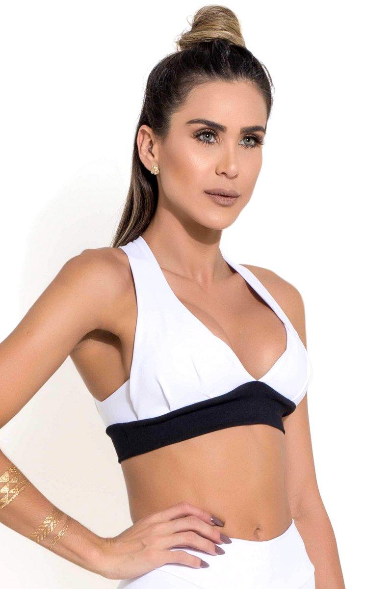 Canoan Top Franzido Branco 79183