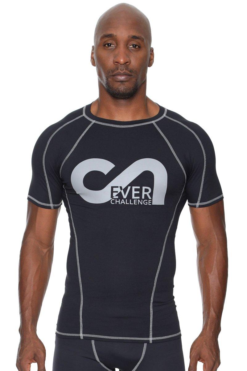 Canoan Camiseta Action Preta e Cinza 72002